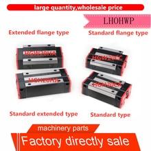 Guía lineal extendida HGH20CA / HGW20CC / HGH20HA/HGW20HA, compatible con HGR20, ancho de 20mm, guía de fresadora CNC