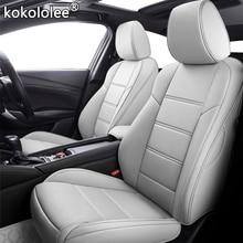 Kokololee CUSTOM รถหนังที่นั่งครอบคลุมชุดสำหรับ KIA Niro KX1 Cadenza SHUMA CARENS Carnival VQ Borrego OPIRUS Sorento ที่นั่งรถยนต์