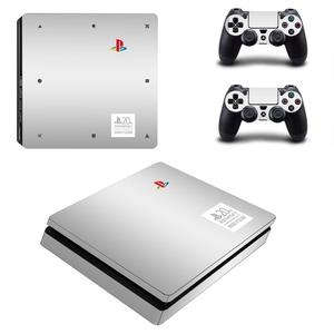 Image 1 - 20th Anniversary Edition PS4 Slim Game cover for PS4 Slim Skin Sticker for PS4 Slim PlayStation 4 and 2 controller skins Decals