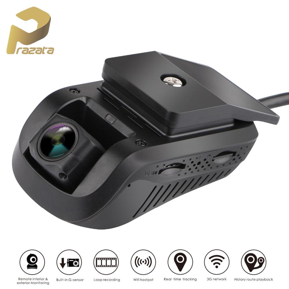 Prazata 3G DVR Dash Cam Car Camera JC100 1080P Smart GPS Tracker Car Dash Camera Car