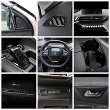 Задняя крышка для зеркала заднего вида из углеродного волокна для Peugeot 3008 5008 GT 2017 - 2020
