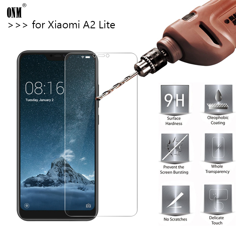 2.5D 9H Premium Tempered Glass For <font><b>Xiaomi</b></font> <font><b>Mi</b></font> A2 Lite Screen Protector protective film For <font><b>Xiaomi</b></font> <font><b>Mi</b></font> A2 Lite <font><b>A2Lite</b></font> <font><b>5.84</b></font> inch image