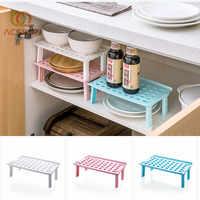 Organisateur pliable placard étagère de rangement réfrigérateur Rack maison porte-vaisselle évier en plastique Drain Rack bureau accessoires de cuisine