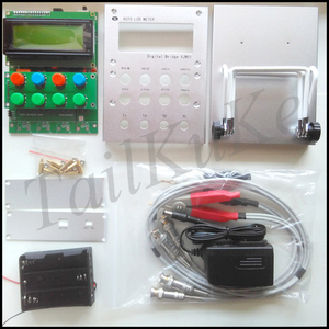 Image 3 - XJW01 цифровой мост 0.3% LCR тестер сопротивления, индуктивности, емкости, ESR, готовый продукт.