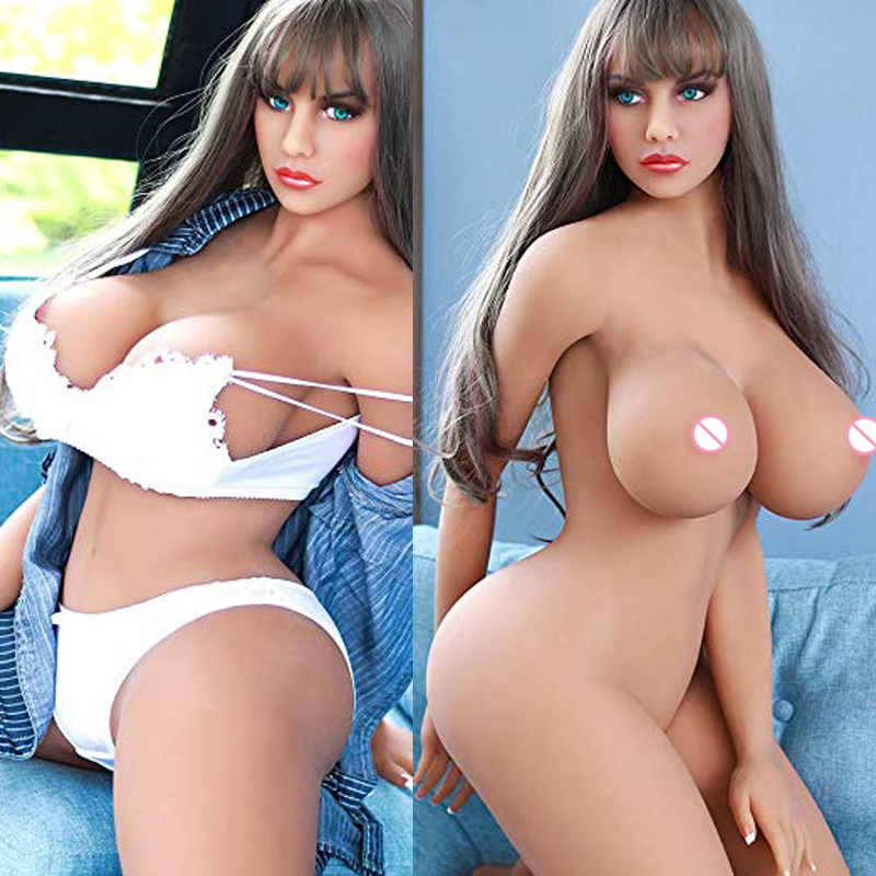 Silicone Sex Dolls 161cm Big Breasts Plump Sex Doll Lifelike Vagina Pussy Anus Realistic Real Doll For Men