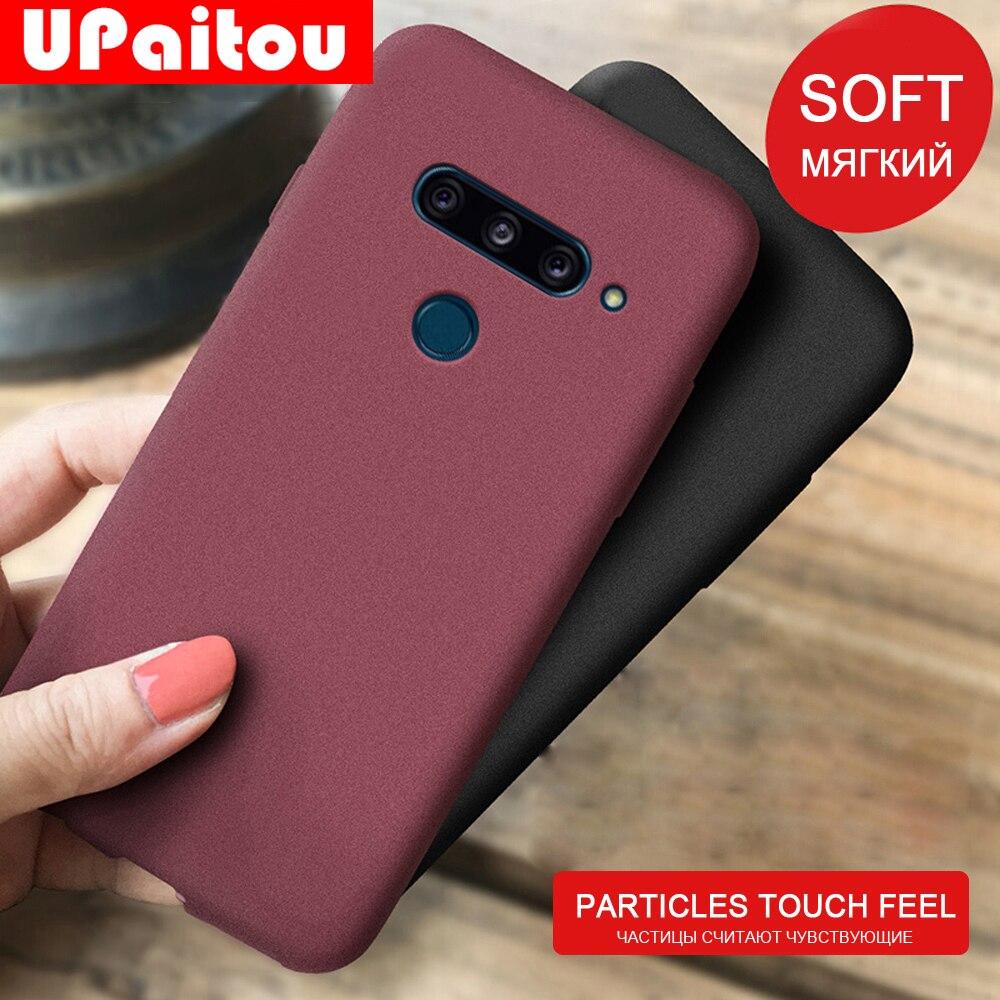 Case For LG G8 V40 V50 Thinq Anti Fingerprint Case Soft Matte Ultra Slim Thin Cover For LGG8 Thinq Case