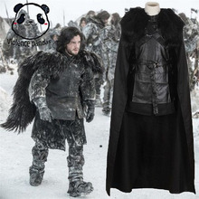 Game of Thrones A Song of Ice and Fire  Jon Snow cosplay hot cool Halloween costume a hollins a song of sunshine