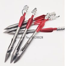 New High Quality Stainless Steel Arrow Bow Missile Head Shooting Fish Dart Hunting Shooting Slingshot Dart 2021