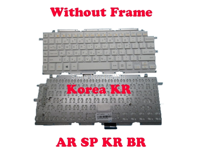Kr Ar Sp Br Toetsenbord Voor Lg 13Z930 13Z930 G 13Z935 13Z935 G LG13Z93 Z360 Z360 G Z360 L Z360 M ZD360 ZD360 G LGZ36 Korea brazilië