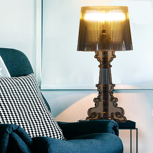 Image 4 - โมเดิร์นGhost SHADOWอะคริลิคใสตารางโคมไฟแสงห้องนอนห้องนอนห้องนอนอะคริลิคโคมไฟตั้งโต๊ะSimple LIGHT