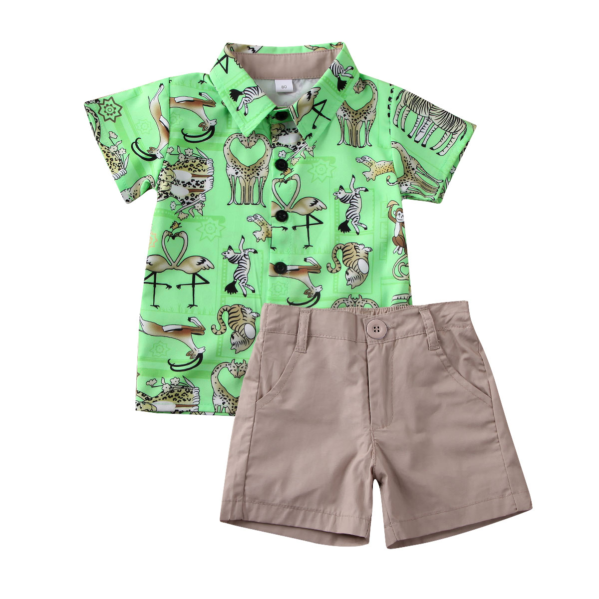 2pcs Toddler Baby Boys Kids Shirt Tops Shorts Outfits Gentleman Set