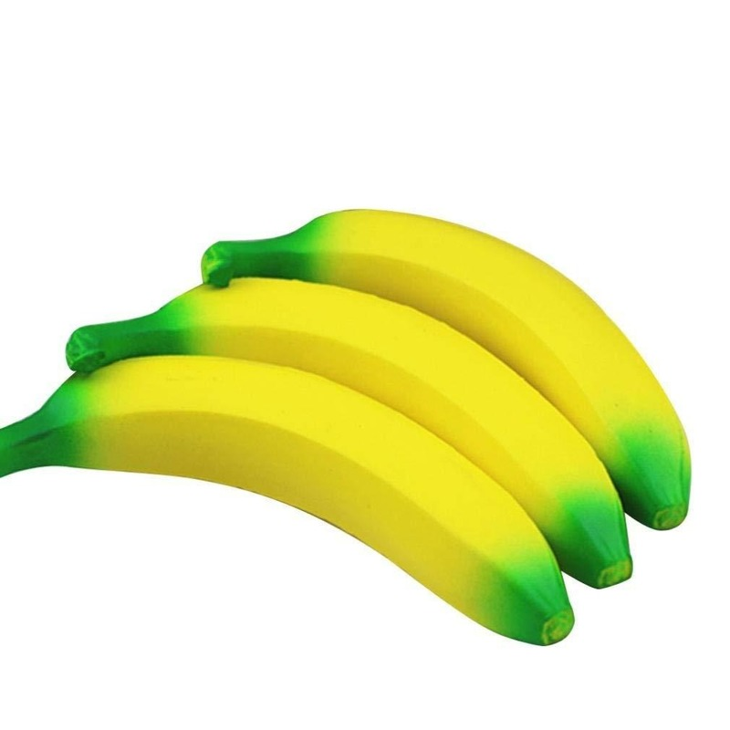 Clearance1!!1pc Fun Squishy Slow Rising Banana Entertainment Antistress Stress Toys Kids Children Tress Relief Squeeze Toys Gift