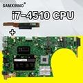 Senden bord + S551LN Motherboard i7-4500U-GT840M Für For Asus K551L S551 S551LN laptop Motherboard S551LB Mainboard S551LB Motherboard