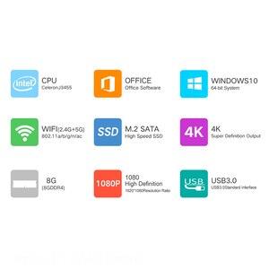 """Image 2 - 15,6 """"portátil de juegos con retroiluminación teclado ordenador portátil 8GB RAM DDR4 1TB 512G 256G 128G SSD Win10 Quad Core IPS Ultrabook"""