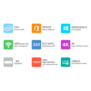 Image 2 - كمبيوتر الألعاب المحمول 15.6 مع لوحة مفاتيح خلفية الكمبيوتر المحمول 8GB RAM DDR4 1 تيرا بايت 512G 256G 128G SSD Win10 رباعية النواة IPS Ultrabook
