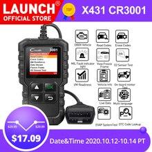 LAUNCH X431 CR3001 completo OBD2 lector de código OBDII herramienta de diagnóstico de coche apagar la luz del motor actualización gratuita pk cr319 ELM327