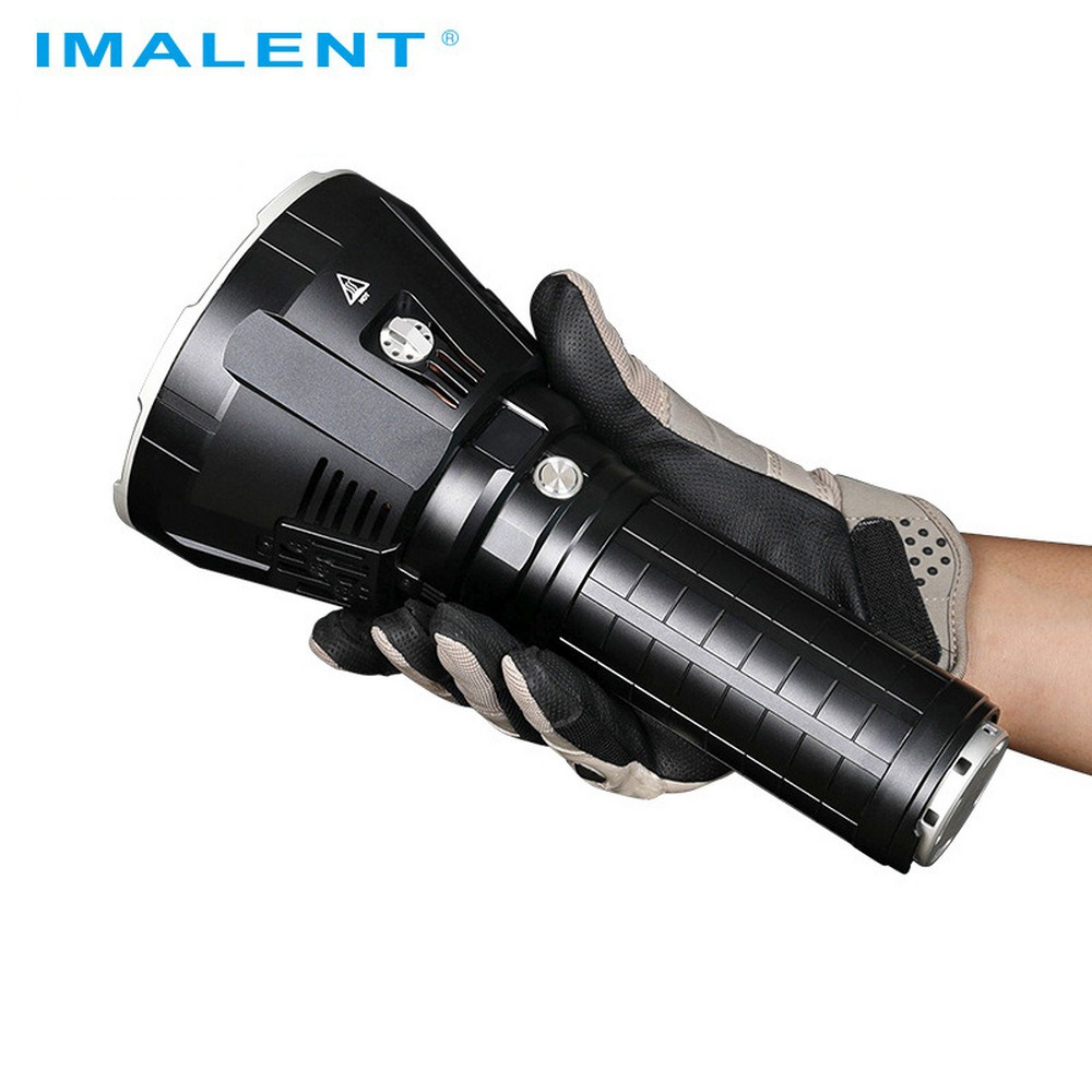 Imalent R90TS LED Flashlight CREE XHP35 HI 36000LM Waterproof Powerful Flashlight With 21700 Battery For Hunting