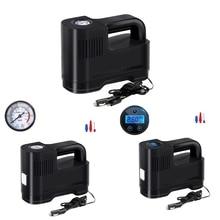 Portable Car Air Compressor DC 12V LED Light Digital Tire Inflator Air Pump for Auto Motorcycle