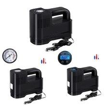 Tragbare Auto Luft Kompressor DC 12V LED Licht Digital Reifen Inflator Luftpumpe für Auto Motorrad