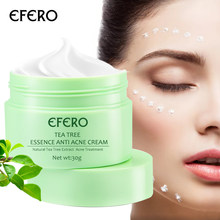 EFERO Tea Tree Face Cream Acne Cream Whitening Serum Face Moisturizing Cream AntiWrinkle Remover Acne Pimple Spot Scar Treatment