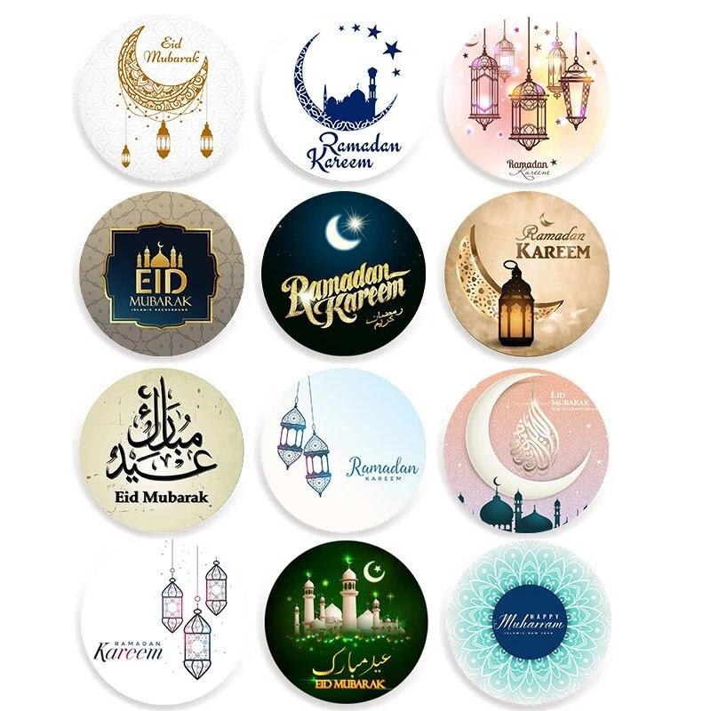 24 Pcs 48 Pcs Islam Muslim Ramadan Eid Mubarak Dekorasi Kertas Stiker Hadiah Label Segel Stiker Idul Fitri Dekorasi Partai Dekorasi Diy Aliexpress