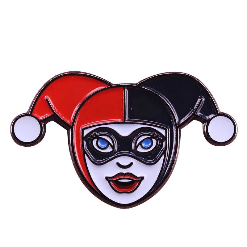 Harley Quinn pin DC comics batman badge divertente camicie giacche decor