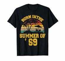 Vintage 50Th Geburtstag Sommer Von 69 Hemd 1969 Geburtstag Geschenke T-Shirt Kurzarm T Hemd