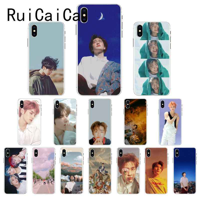 Ruicaica KPOP Korean handsome boy NCT Customer High Quality Phone Case for iPhone 8 7 6 6S Plus X XS MAX 5 5S SE XR 10 Cover