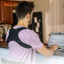 Posture Corrector Back Brace Shoulder Support Invisible Back Posture Orthotics Belt Corset Camelback Back Pain Spine Corrector