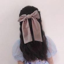 Maxsiti u новые детские заколки для волос из полиэстера и хлопка