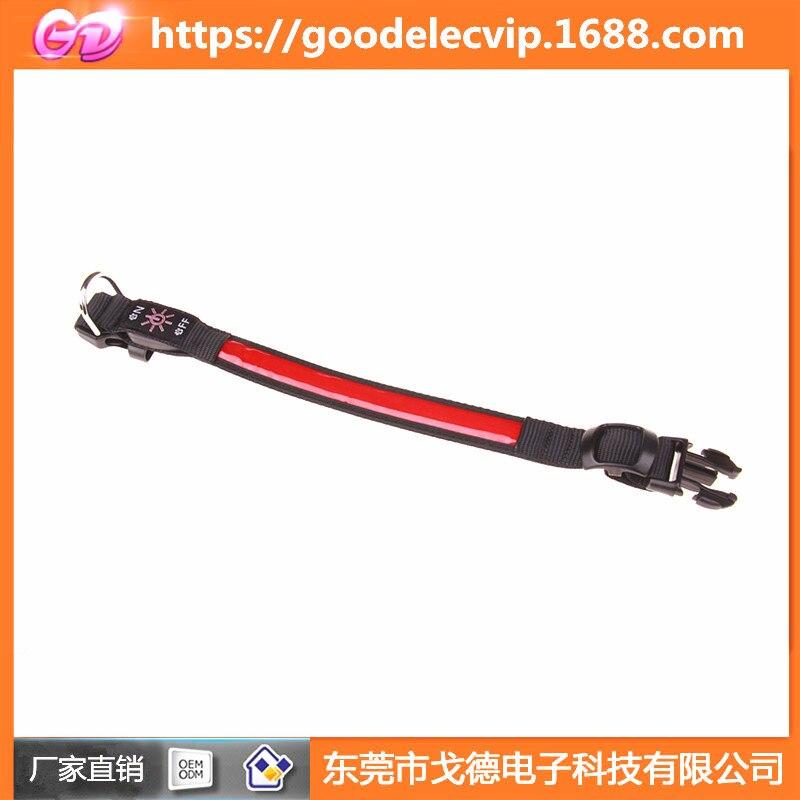 LED Collar Dog Luminous Collar USB Charging Large And Medium Small Dogs Night Light Neck Ring Pet Supplies Light-emitting Suppli