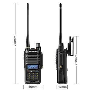 Image 5 - 2021 Baofeng UV 9R Plus Waterdichte IP68 Walkie Talkie High Power Cb Ham 30 50Km Lange Bereik UV9R Draagbare twee Manier Radio