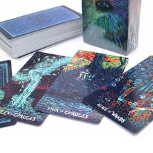 English DIY Cashing Prism Visions Tarot Board Game Cards Deck Fortune Telling Creative Custom