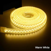 LED Strip Lighting AC 220V 240V IP67 Waterproof 5630 5730 SMD 180 LEDs/m Tape Ribbon Rope Light  1M 2M 3M 5M 10M 15M 20M 50M