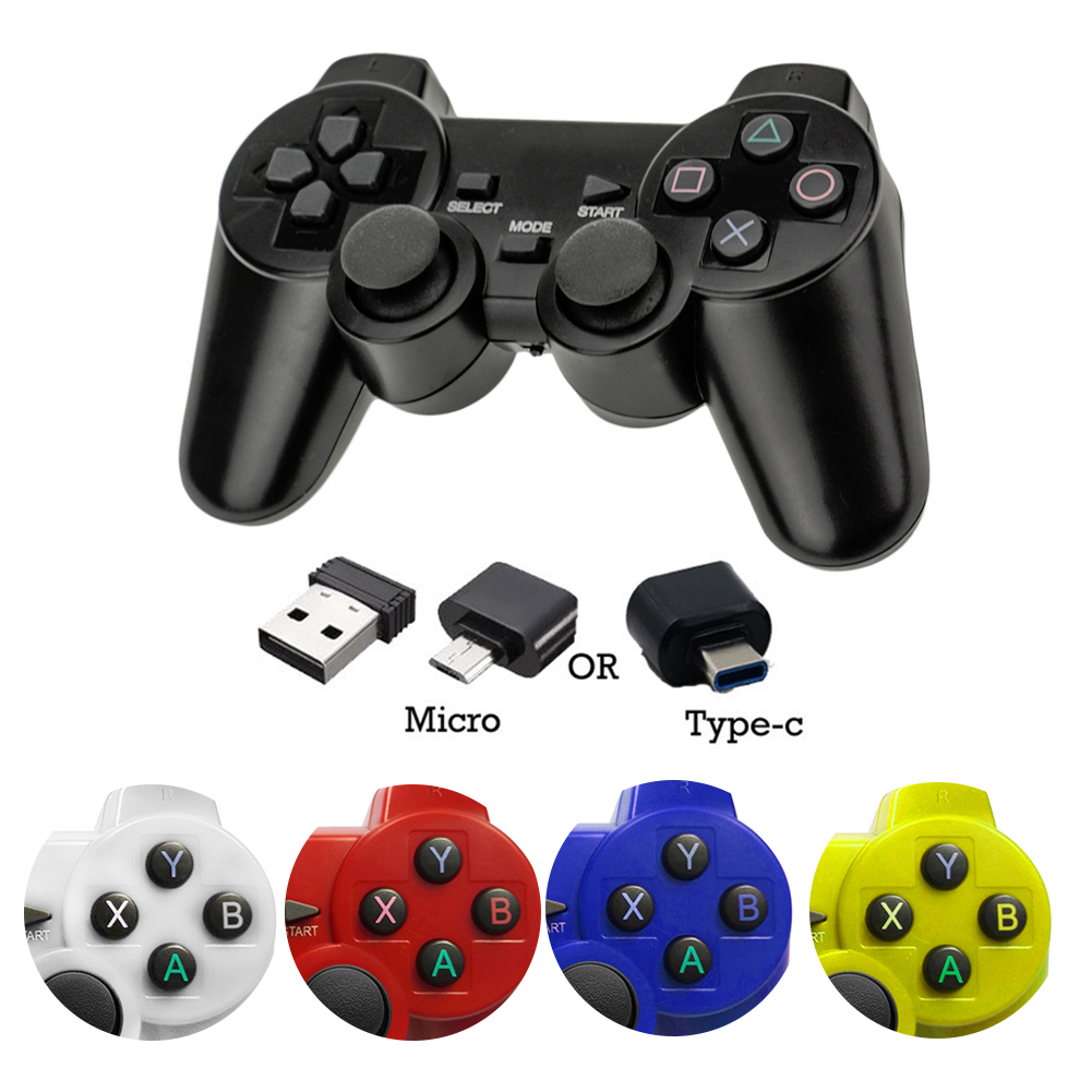 Wireless-Gamepad Joystick Phone Controller Ps3 Console Joypad-Handle Type-C Xiaomi Android title=