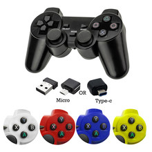2.4G Wireless Gamepad for Xiaomi 9 Iphone Samsung Android Type C Phone PC TV Box PS3 Console Controller Joystick Joypad Handle(China)