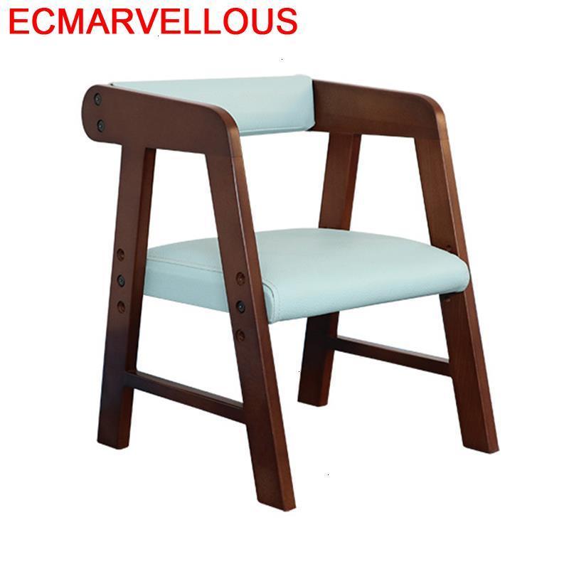 Meuble Silla Estudio Dinette Table Mueble Wood Adjustable Cadeira Infantil Baby Kids Furniture Chaise Enfant Children Chair