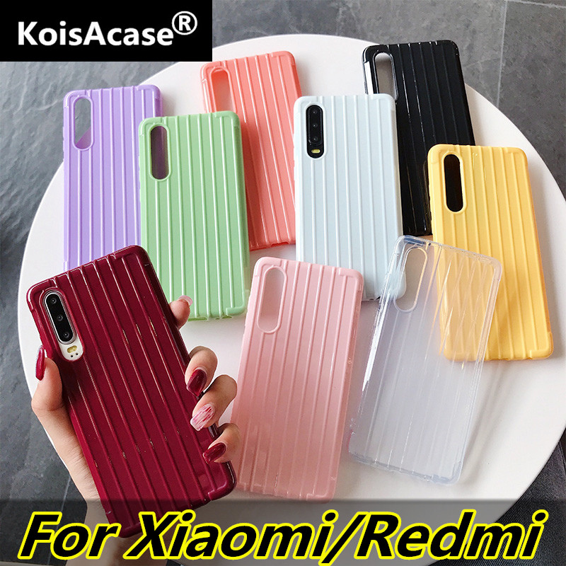 KoisAcase Trunk Case For Xiaomi CC9 E Mi 9T Mi 9 8 A2 A3 Lite Soft TPU Back Cover For Redmi K20 6 Pro 6A 5A 5 Plus Note 6 7