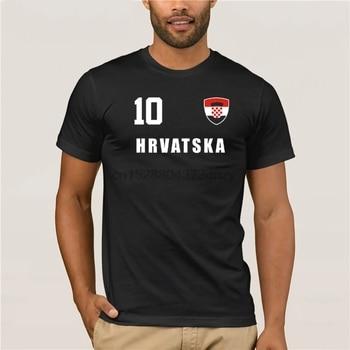 2018 gran oferta de verano estilo Croacia Hrvatska 2018 camiseta Jersey mira futbolista + Incl.