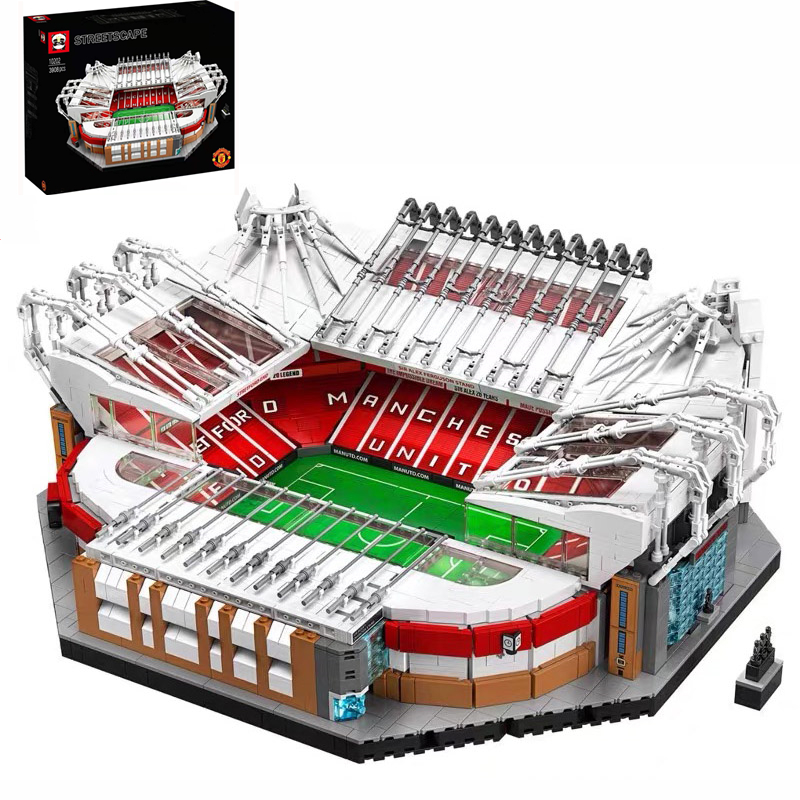 10272 Old Trafford Manchester 3908PCS Creator City Street View Model Building Kits Blocks Bricks Toys Kids Gift Compatible 10202