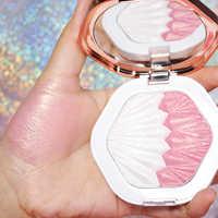O.TWO.O Shell Marcador Marcadores de Fluorescência Brilho de Longa Duração de Maquiagem Para O Rosto Corpo Contorno Paleta Pó Bronzer