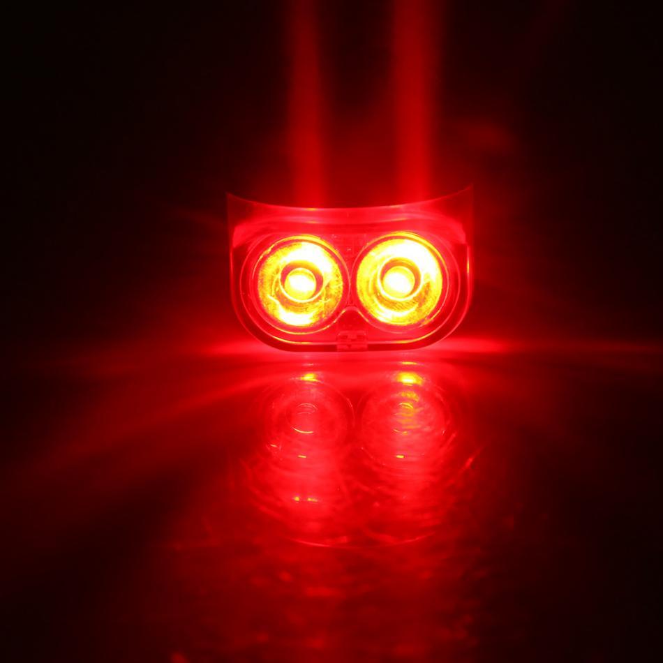 Spor ve Eğlence'ten Bisiklet Işığı'de Manyetik indüksiyon sürme uyarı dağ bisikleti ışığı bisiklet arka ön kuyruk tekerlek ışığı tutucu ile bisiklet aksesuarı title=