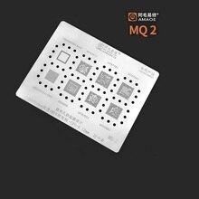8 IN 1 CPU Reballing Stencil Template per MSM8909W/MT6761V/6779/6758 V/6765/6768 v/SDM439 di Riparazione Del Telefono Mobile
