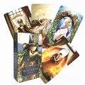 2020 hohe qualität Neue Wizards Tarot Karte Deck Basierend Deck Englisch Version Spielen Spiel Spielzeug Divination Vermögen Spiel