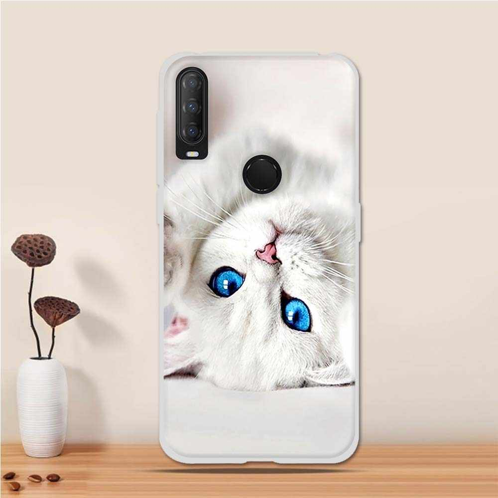 Pretty Unicorn Case Clear Slim 2020 ZhuoFan alcatel 1S Phone Case Cover Silicone TPU Transparent with Design Shockproof TPU Back Protective for alcatel 1S 2020