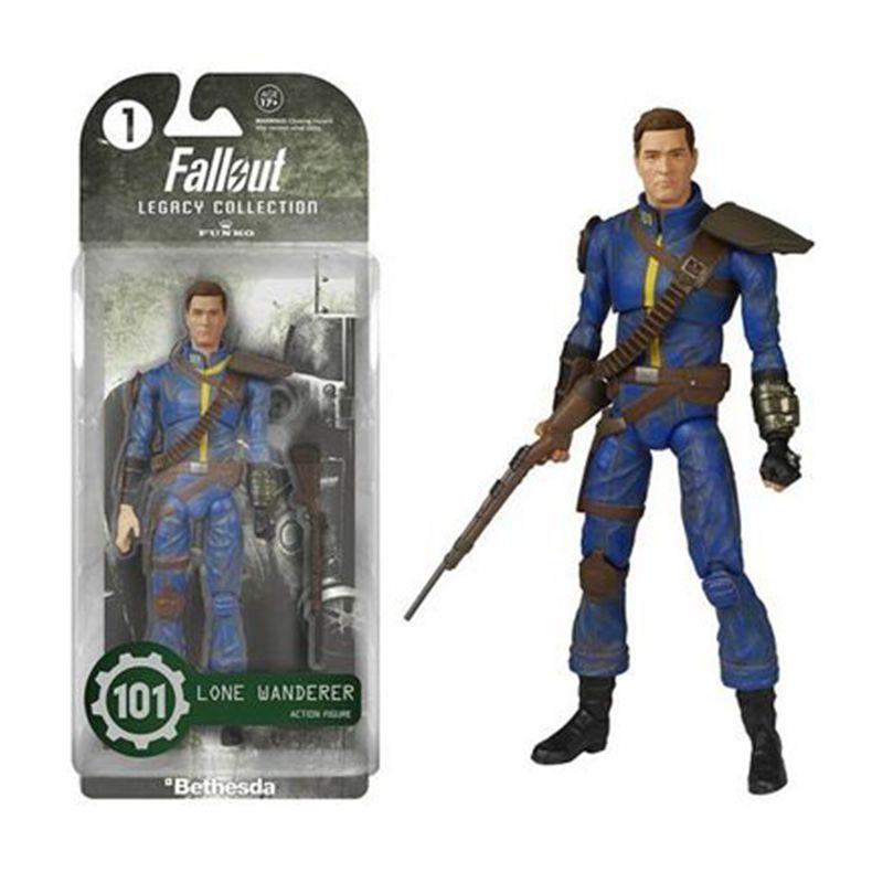 Fallout 4 Lone Wanderer Power Armor ПВХ фигурка для детей, игрушка, рождественские подарки