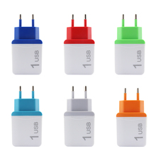 Charger plug 5v USB Power Adapter EU Plug Wall Travel Charger for iphone Samsung S8 portable Charging Mobile Phone Cable Adapter 5v 4a mobile phone charger eu travel wall power adapter for samsung galaxy xiaomi redmi iphone 7 8 8 plus charging cable plug