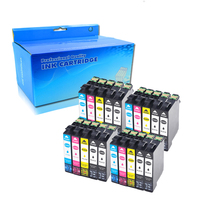 20 Pack Compatible Epson  16XL T1631 1632 ink cartridge for WF 2650 WF-2630 WF-2660 WF-2750 WF-2760 XP-320 XP-420 XP-424 220xl t220xl xp 320 xp 424 xp 420 wf 2630 continuous ink supply system for ciss ink tank