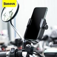Baseus-Soporte Universal ajustable para teléfono móvil, base para manillar de bicicleta, para iPhone 12 y Samsung