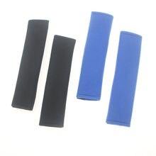 Покрытие ремня безопасности наплечный рукав плюшевый автомобильный ремень безопасности чехол пара черного и белого цвета с рисунком безопасный плечевой ремень